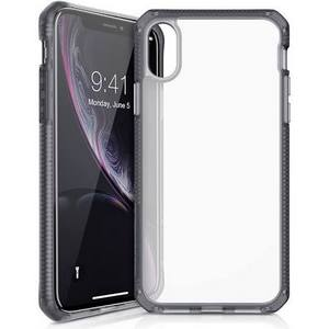ITSKINS - Hybrid Frost MKII Case for Apple iPhone XS Max Black and Transparent