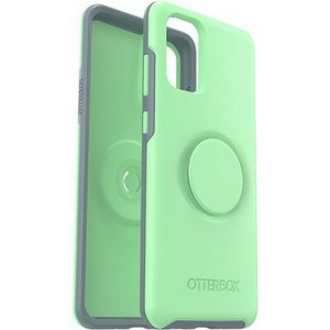 OtterBox - Otter + Pop Symmetry Case for Samsung Galaxy S20  - Mint to Be