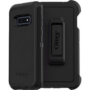 OtterBox - Defender Case w/Belt Clip for Samsung Galaxy S10e - Black