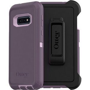 OtterBox - Defender Case w/Belt Clip for Samsung Galaxy S10e - Purple Nebula