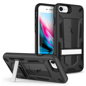 ZIZO TRANSFORM Series Case for iPhone SE (2020) / iPhone 8 / iPhone 7  Black