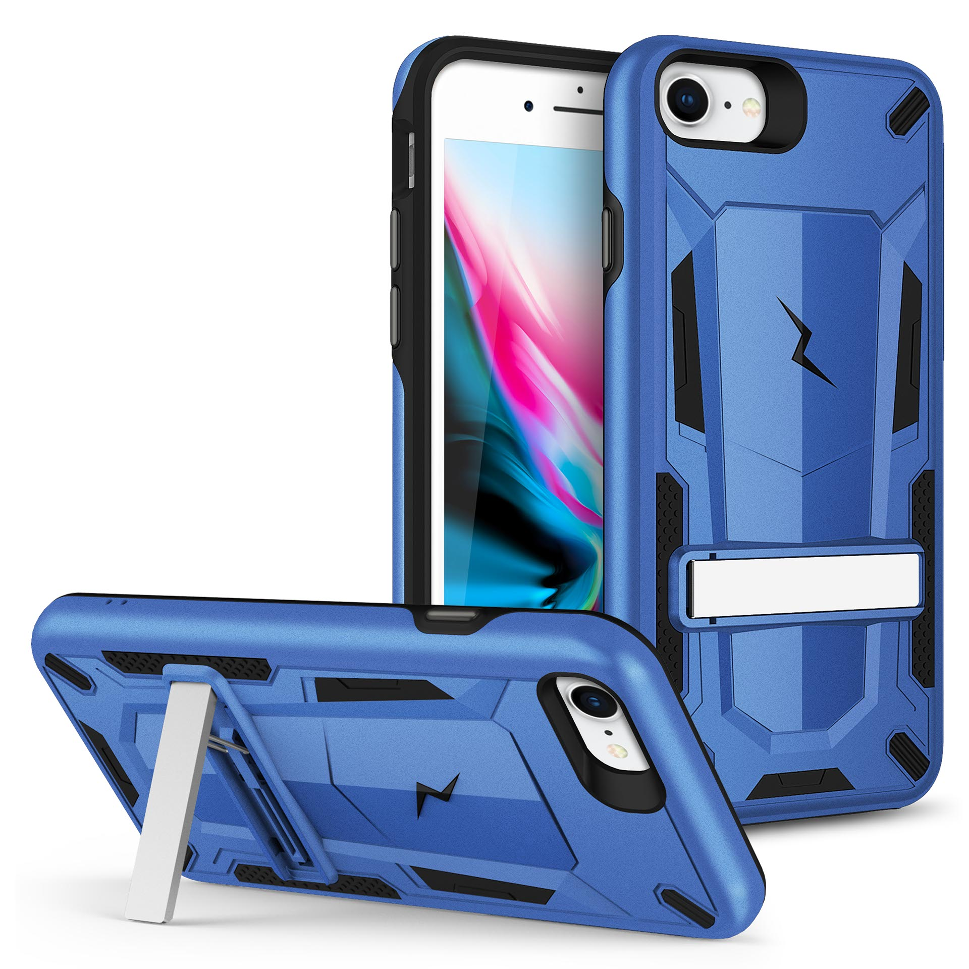 ZIZO TRANSFORM Series Case for iPhone SE (2020) / iPhone 8 / iPhone 7 Blue