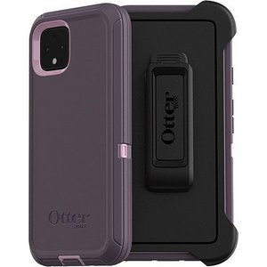 OtterBox - Defender Case for Google Pixel 4 - Purple Nebula