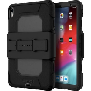 Griffin Survivor All-Terrain (w/Hand Strap) for iPad Pro 11-inch (2020-2018), Black