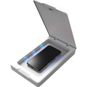 ZAGG - Invisible Shield UV Disinfector Cabinet Sanitizer - White