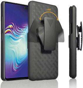 Premium FITTED COMBO CASE Holster & Protective Shell w/Kickstand & Belt Clip (Galaxy A11)