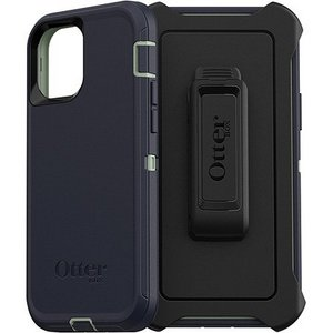 OtterBox DEFENDER Rugged Defender Screenless Edition Case w/Belt Clip for Apple iPhone 12/12 Pro - Varsity Blues