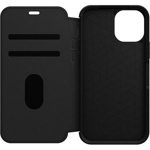 OtterBox STRADA Wallet Case for Apple iPhone 12/12 Pro - Shadow Black