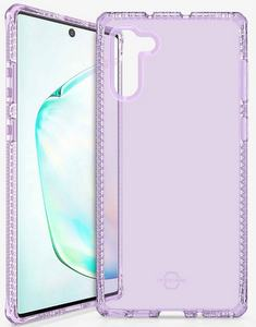ITSKINS - Spectrum Clear Case for Samsung Galaxy Note10 - Light Purple