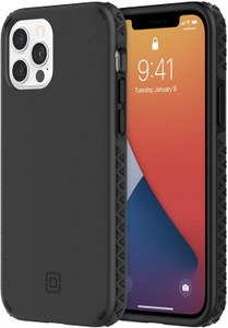 Incipio - Grip Case for Apple iPhone 12 / 12 Pro - Black