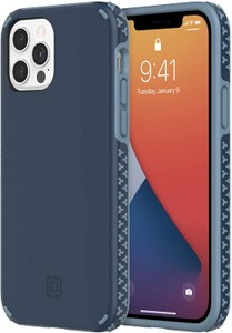 Incipio - Grip Case for Apple iPhone 12 / 12 Pro - Insignia Blue