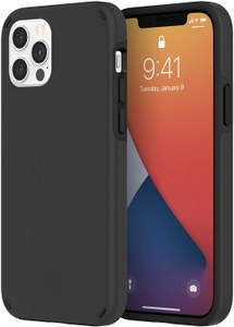 Incipio - Duo Case for Apple iPhone 12 / 12 Pro - Black