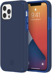 Incipio - Duo Case for Apple iPhone 12 / 12 Pro - Classic Blue