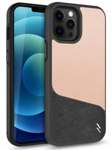ZIZO DIVISION Series Case For iPhone 12 /12 Pro Saffiano Blush)