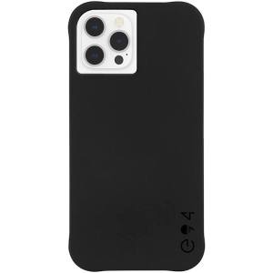 Case-Mate - eco94 Recycled Case with MicroPel for Apple iPhone 12 / 12 Pro - Black