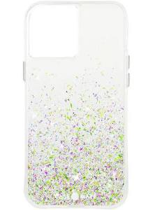 Case-Mate - Twinkle Case with MicroPel for Apple iPhone 12 / 12 Pro - Ombre Confetti