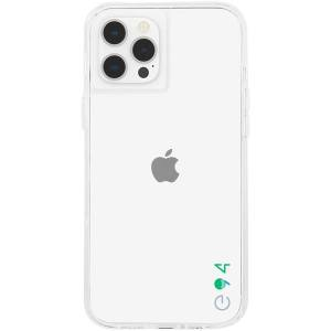 Case-Mate - eco94 Eco-Clear Case with MicroPel for Apple iPhone 12 / 12 Pro - Clear