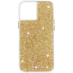 Case-Mate - Twinkle Case with MicroPel for Apple iPhone 12 / 12 Pro - Gold