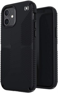 Speck - Presidio2 Grip Case for Apple iPhone 12 / 12 Pro - Black