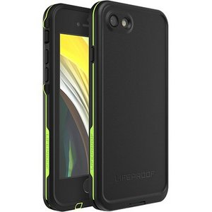 LifeProof - FRE Case for Apple iPhone SE / 8 / 7 / 6 / 6S - Night Lite / Black