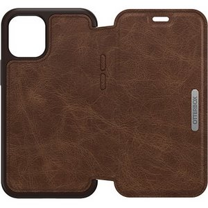 OtterBox STRADA Wallet Case for Apple iPhone 12 Mini -Expresso