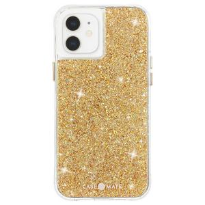 Case-Mate - Twinkle Case with MicroPel for Apple iPhone 12 Mini - Gold