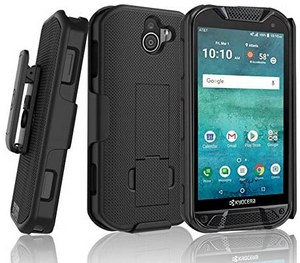 BELTRON Phone Case with Belt Clip / Shell Holster Combo For Kyocera DuraForce Pro 2