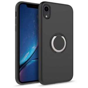 Zizo Revolve Case w/Built In  360° Ring Holder KickStand & Magnetic Mount for iPhone XR (Black)