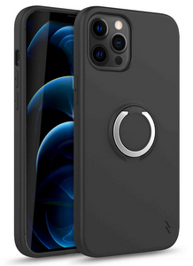 Zizo Revolve Case w/Built In 360° Ring Holder KickStand & Magnetic Mount for iPhone 12 Pro Max (Black)