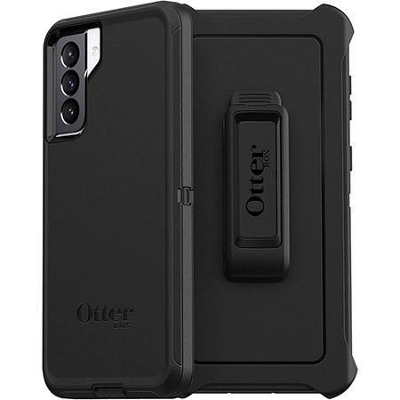 OtterBox - Defender Case for Samsung Galaxy S21 5G - Black