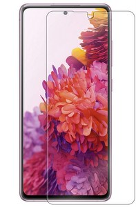 Premium FITTED TEMPERED GLASS Screen Protector for Galaxy S20 FE 5G / UW - Clear
