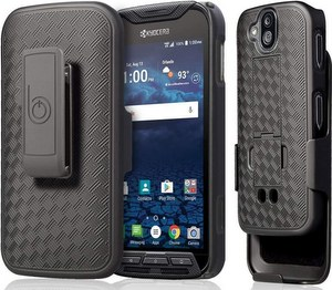 BELTRON Phone Case with Belt Clip / Heavy Duty Shell Holster Combo For Kyocera DuraForce Pro