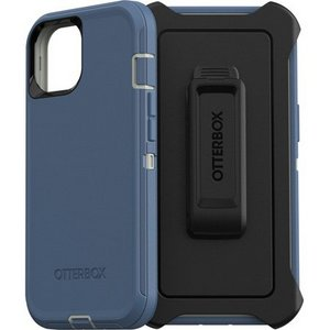 Otterbox DEFENDER Screenless Case w/Belt Clip for iPhone 13 Pro - Fort Blue