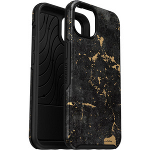 Otterbox SYMMETRY Antimicrobial Case for iPhone 13 - Black & Gold